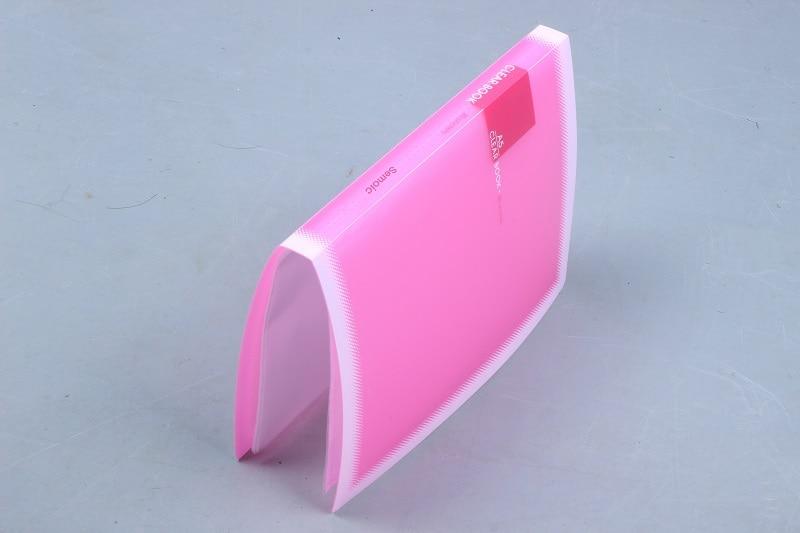 Semoic A5 Accordion Style Mini Bills Receipt File Document Bag Pouch Folder Card Holder Organizer File Holder