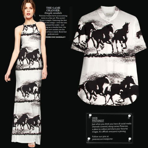 new arrival 114cm wide 14mm black horse print anti-wrinkle silk crepe de chine dress shirt clothes fabric material