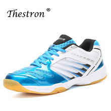 Thestron Indoor Sneaker Sport Wear-Resistant Badminton Shoes For Men Top Quality Shoe Boys Super Cool Sneakers Adult