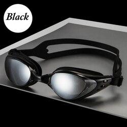 남성 여성 수영 안경 안티 안개 UV 보호 수영 안경 전문 전기 도금 방수 수영 고글