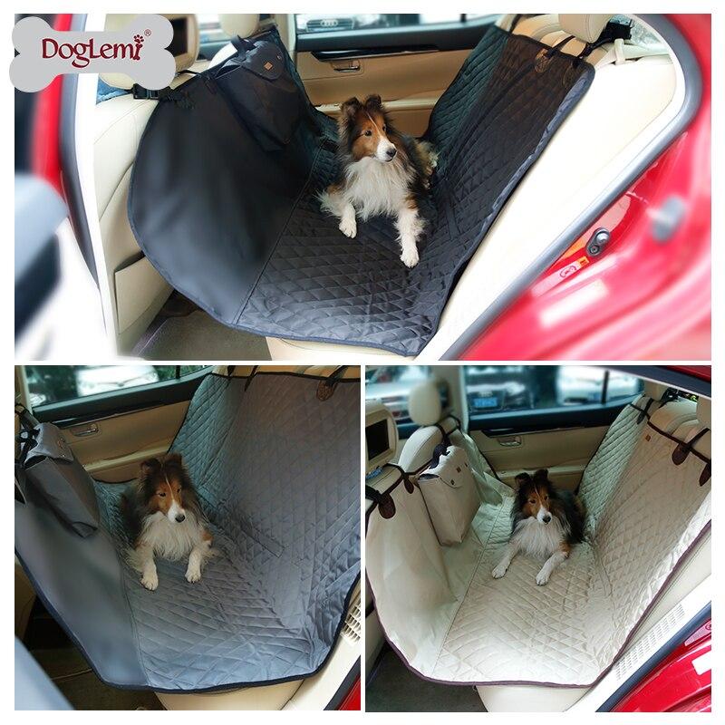DogLemi Deluxe imperméable voyage chien arrière siège de voiture Proctetor couverture pour animaux de compagnie