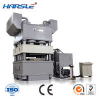 H frame hydarulic metal door embossing press machine with patterns