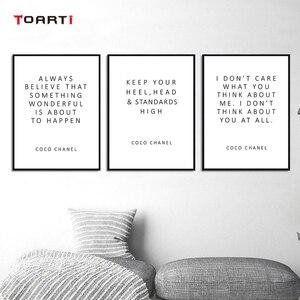 Image 3 - Motivation Moderne Zitate Drucke Poster Inspirational Leben Buchstaben Leinwand Malerei Auf Der Wand Für Wohnzimmer Home Decor Kunst