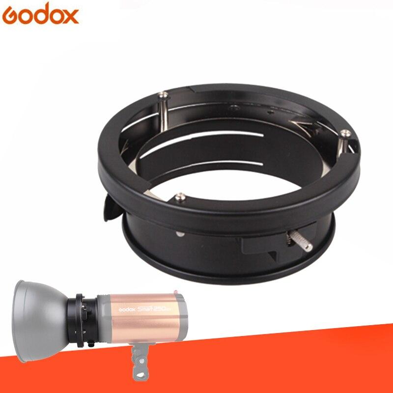 Godox Universal Mini 98mm Flash Mounts To Bowens Mount Ring Adapters Studio Strobe Godox 160W 250W 300W