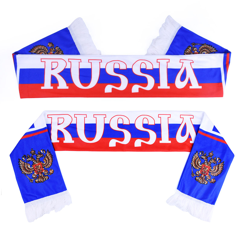 Football Fans Scarf Soccer Fan Scarf 32 Football Teams Countries Team Scarf Flag Banner Football Cheerleader Gift Scarf Souvenir