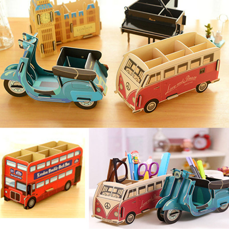 Popular diy pencil holder buy cheap diy pencil holder lots from china diy pencil holder - Unique office desk accessories ...