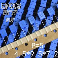 2019 heißer verkauf 20 PCS/50 PCS Korrektur Kondensator 105 63V 1UF Original Deutsch EPCOS Metallisierte Film kondensator kostenloser versand