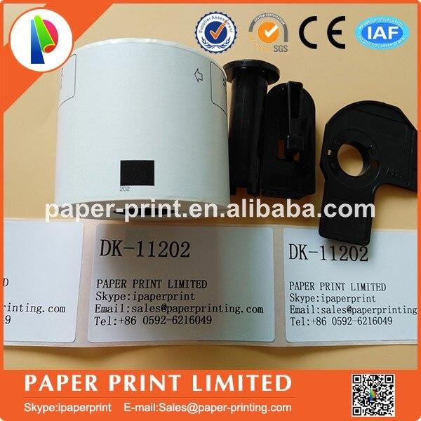 Pack de 5 Etiquettes Compatibles Brother DK-11202 62mm x 100mm