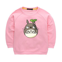 My Neighbor Totoro Autumn Fashion Children Hoodies Boys&Girls Long sleeve T-shirts Pullovers Warm Hoodies Kids tops clothing