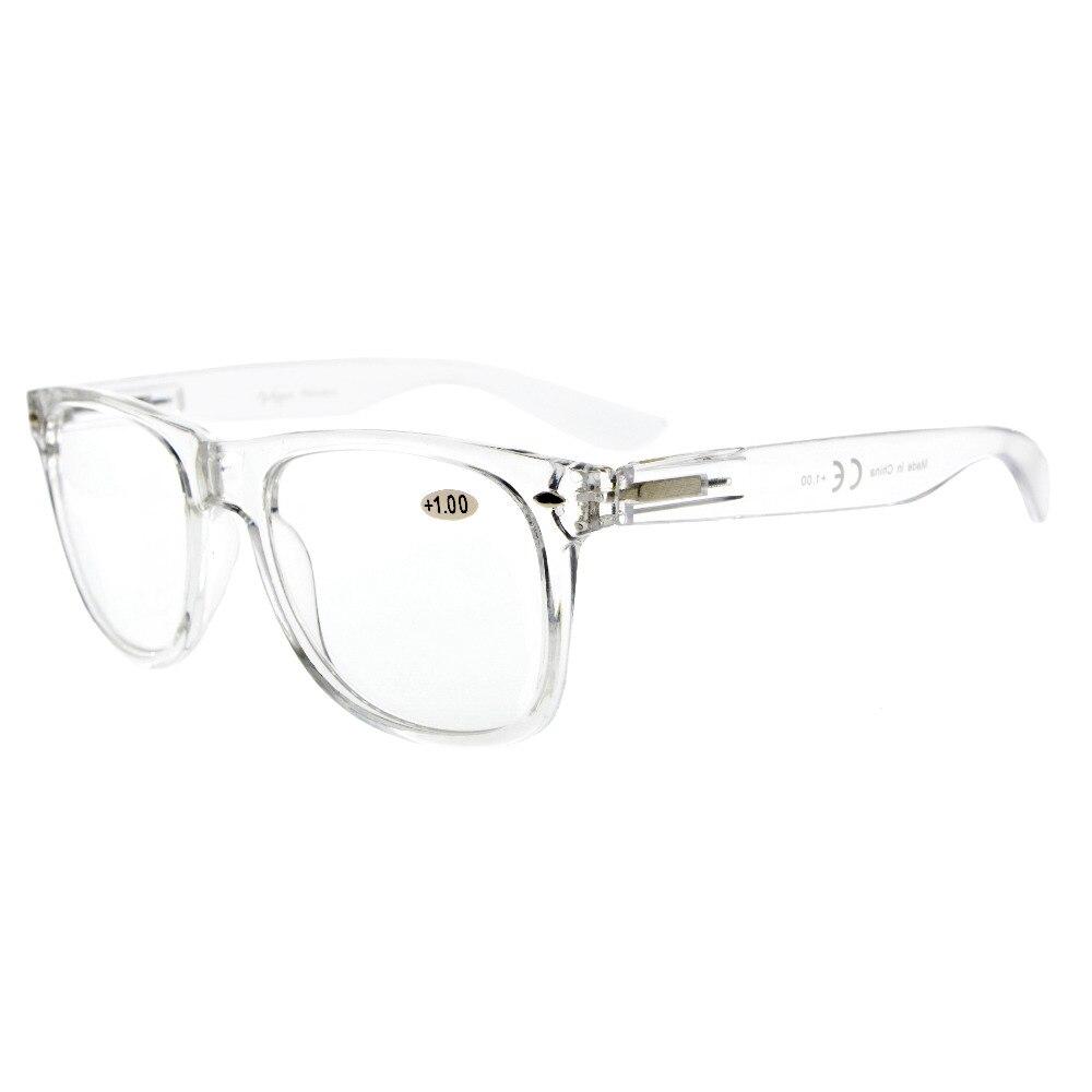R133 Eyekepper Comfortable Readers Spring Hinges Large Simple Reading Glasses RX Magnification Eyeglasses +0.00----+4.00