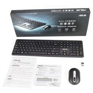 ASUS W2000 Chiclet комплект беспроводной клавиатуры и мыши