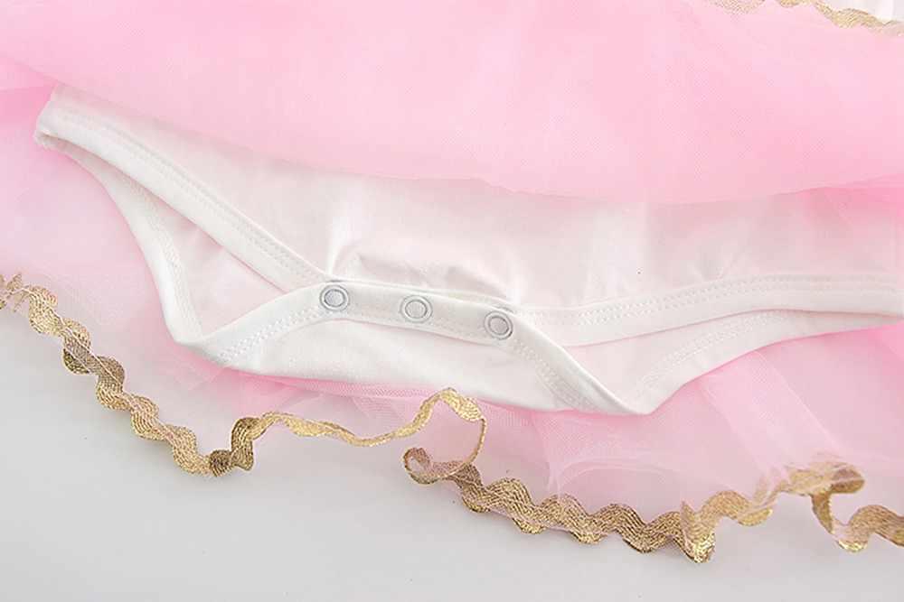 ดอกไม้ love พิมพ์ลูกไม้ชุดน่ารักเด็กเด็กสาวดอกไม้หัวใจ Rose Tutu สุทธิเส้นด้ายเจ้าหญิง Romperชุดเสื้อผ้า F4