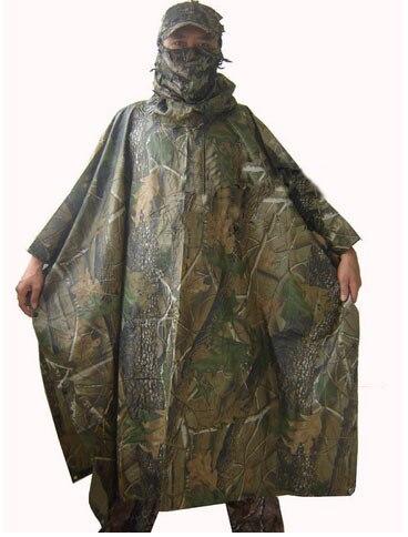 Nova Camuflagem capa de chuva capa de Chuva Da Moda esportes Ao Ar Livre Camping Bionic camuflagem capa Z03