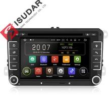 Isudar Voiture lecteur multimédia Android 8.1 2 Din dvd de voiture Pour Volkswagen/VW/POLO/PASSAT/Golf/Skoda /Octavia/Siège/Leon radio gps DSP