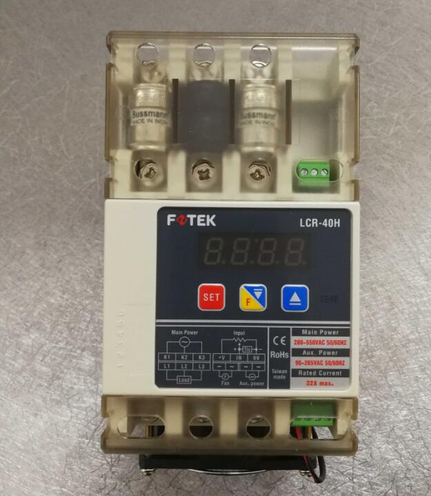 LCR-40H FOTEK Digital Power Regulator 100% New & OriginalLCR-40H FOTEK Digital Power Regulator 100% New & Original