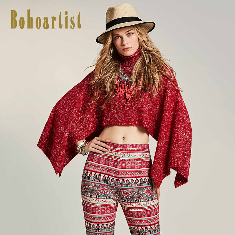 Aliexpress.com : Buy Bohoartist 2017 Autumn Women Sweater Red ...