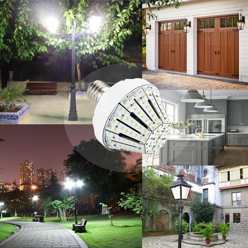 NS 40 Watt LED Corn Light Bulb 6000k Daylight 180W Replacement E39/E40 Large Mogul Screw Base 3 Years Warranty