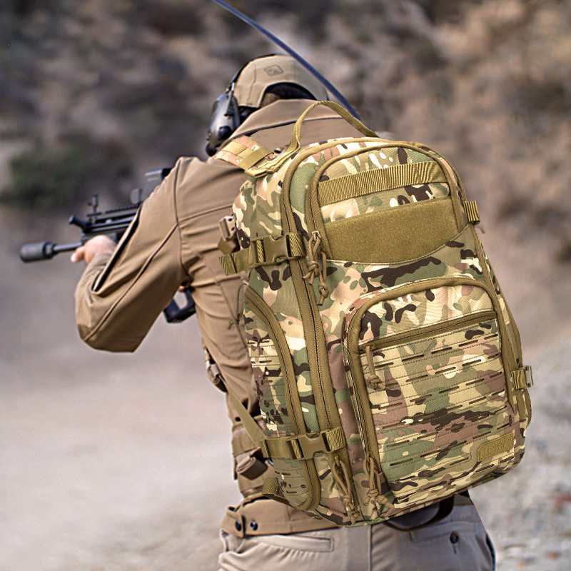 Outdoor Tactical Backpack MOLLE 1-2 Day Army Military Survival Bug Out Bag Rucksack Assault Pack for Camping Hiking Trekking reebow tactical military tactical assault pack backpack army molle waterproof camping bug out bag rucksack for outdoor hiking