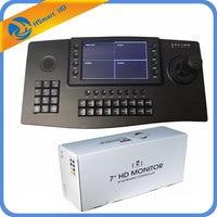 CCTV 4D клавиатура контроллер Джойстик 7 TFT ЖК дисплей 4ch дисплей для IP PTZ камера RS485 USB HDMI выход Onvif