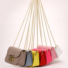купить Fashion Famous Brand Genuine leather Women Shoulder Bags High Quality Woman Luxury Handbags Girls Designer Mini Messenger Bag по цене 3375.7 рублей