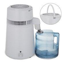 VEVOR 4L Water Distiller Stainless Steel Water Purifier & Alcohol Purifier Filter Glass Jar Kitch Medic kitch clock kitch clock 911440
