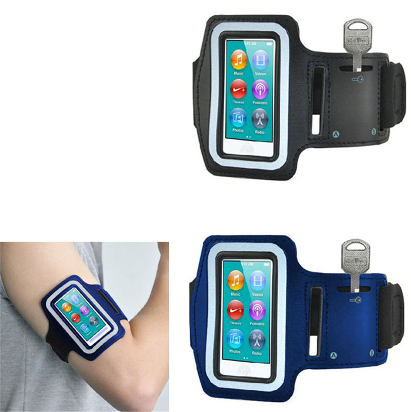 Hillsionly Newest Arrival Exercise Sport Running Gym Armband Cover Case For Ipod Nano 7th Gen High