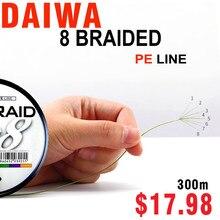 Linha de pesca marítima, J-BRAID 8a, 300m, 3 cores, 8 fios, monofilamento, 30-100lbs, pesca feita no japão