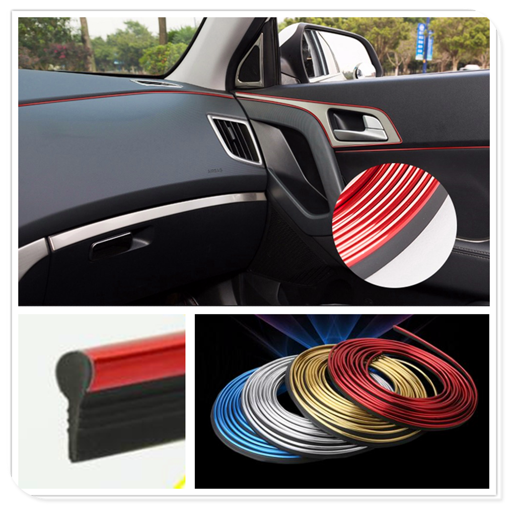 Car interior Decoration thread line Insert Strip Accessories for Mercedes Benz E53 C63 C43 C-Class AMG GL550 F800 A200 image
