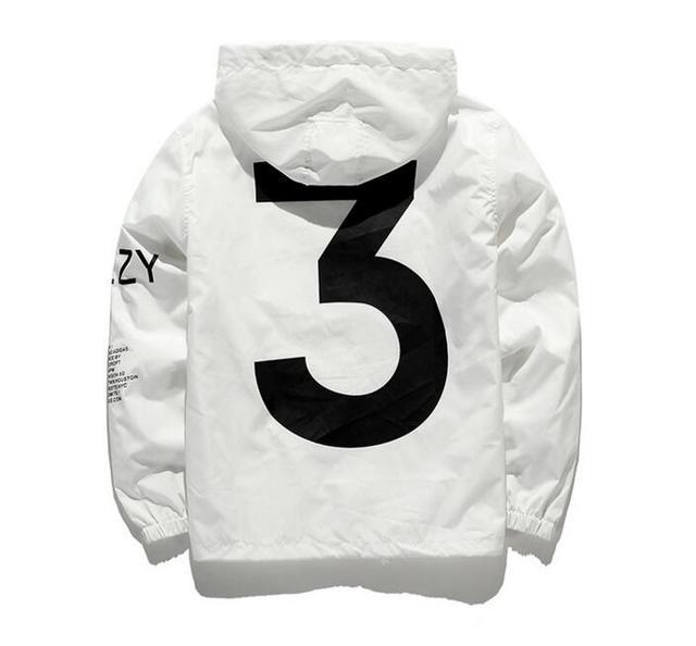 Jesus is king Kanye West Y3 Season 3 Windbreaker Jacket  1