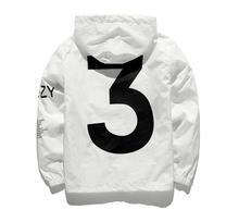 Прямая поставка Новинка 2018 г. Лидер продаж Kanye West Y3 Сезон 3 ветровка Для мужчин Для женщин хип-хоп куртка модная верхняя одежда