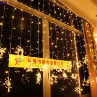 IWHD 8x4M Navidad LED Christmas Lights Outdoor Indoor 110/220V Garland Cristmas Decoration LED Fairy Lights Curtain Garlands
