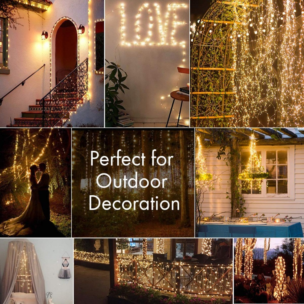 led christmas light usb string light outdoor fariy party wedding holiday new year decoration (4)