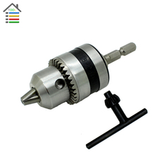 New Electric Rotary Hammer Drill Chucks power Tool accessories Cap 1.5-10mm Mount 3/8″-24UNF with 1/4″ Hex Shank for Electrical