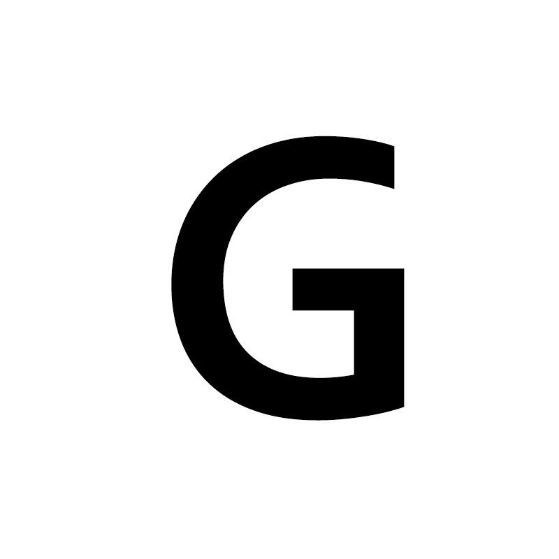 Унисекс, золото, серебро, цвет, A-Z, 26 букв, первоначальное имя, кольца для мужчин и женщин, геометрический сплав, креативные кольца на палец, ювелирные изделия - Цвет основного камня: G