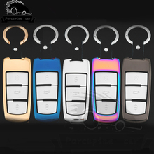 Zinc alloy Car Style Cover Case Key For VW Passat CC B7 Car Key Cover car aluminium alloy key case cover