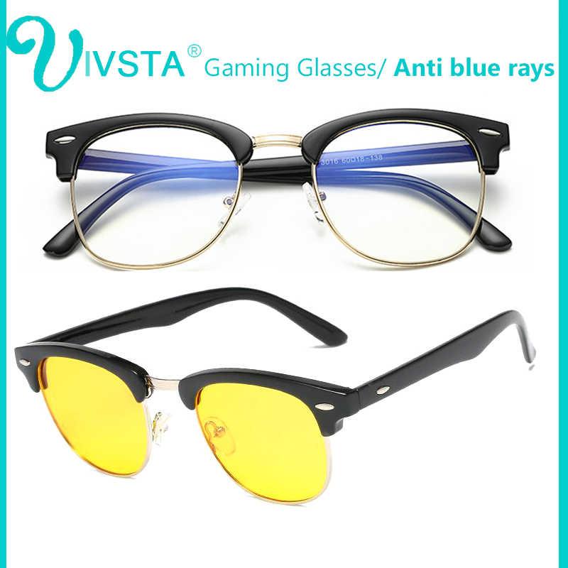 5100c63903 IVSTA Gaming Glasses Anti Blue Rays Computer Glasses TV Phone Clear Lens  Optical Frame Myopia Spectacle