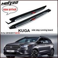Новое поступление подножка сбоку Бар бег доска nerf бар для Ford Kuga ESCAPE 2013 2018. Качество ISO9001, разумная цена.
