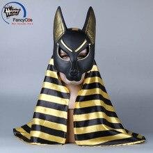 Bleach Anubis Маска Косплей Шлем Хэллоуин Латексная маска реквизит подарки маска Высокое качество