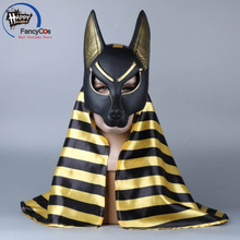 Bleach Anubis Mask Cosplay Helmet Halloween Latex Mask Props Gifts Mask High Quality