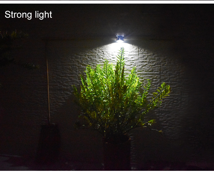 Waterproof Solar Outdoor Light with 4 LED and Motion Sensor Powered by Sunlight for Garden and Garage 15