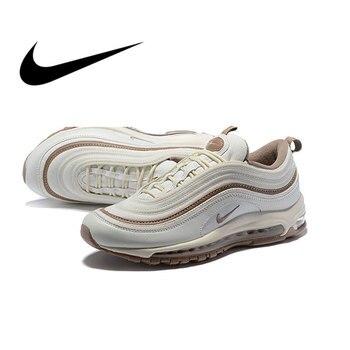 67666593c6c1f Dos homens originais Tênis de corrida Ao Ar Livre Calçados Esportivos Nike  Air Max QS 97 OG Designer de Calçados Atlético 2019 Nova Listagem 917646-004