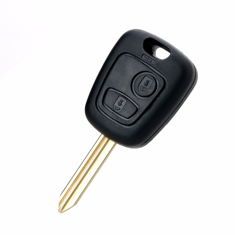 2 Buttons Replacements Car Key Fit For Citroen 433MHZ With PCF7961 Chip SX9 Blade Auto Accessories