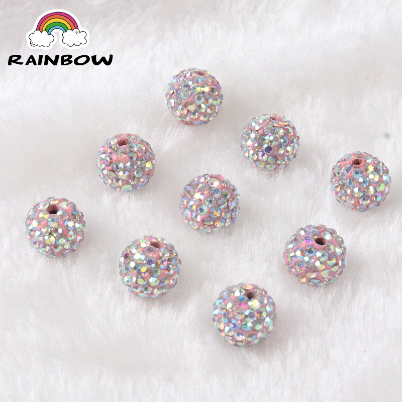 Buy Cheap Free Shipping 100pcs Lose Money Sale Mixed Balla Beads 10mm Ab Clay Crystal Balla Disco Pave Crysta Balls Diy Bracelet Pendant Excellent Quality In