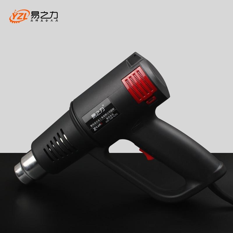 2000 W 220 V UE Plug Industrielle Électrique Chaude Pistolets à air chaud D'emballage Rétractable Thermique Chauffe-Buse