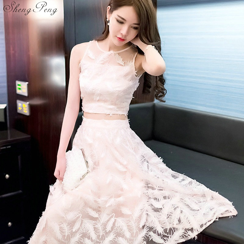 Summer Women's Suits Two Piece Set 2018 Clothing Crop Top And Skirt Set Dress Knitted Skirt Sets For Women Q343
