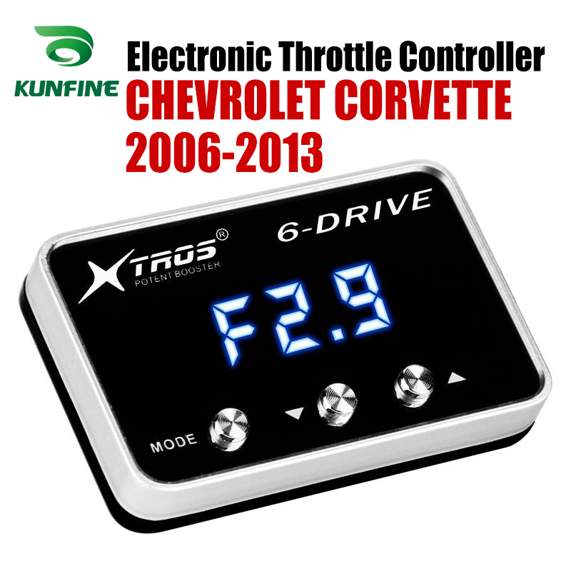 Car Electronic Throttle Controller Racing Accelerator Potent Booster For CHEVROLET CORVETTE 2005 ONLY Tuning Parts AccessoryCar Electronic Throttle Controller Racing Accelerator Potent Booster For CHEVROLET CORVETTE 2005 ONLY Tuning Parts Accessory