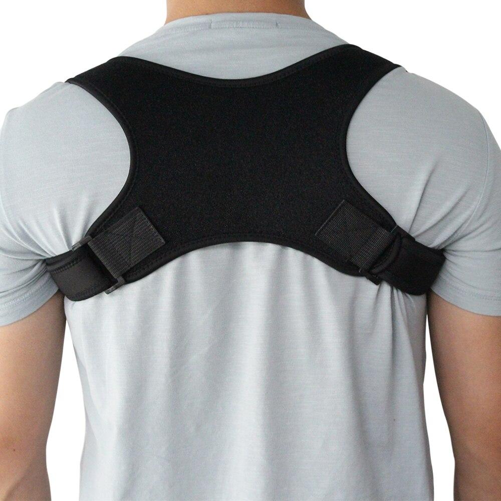 1PCS Adjustable Back Support Belt Shoulder Bandage Corset Back Orthopedic Posture Corrector Correction Back Pain Relief