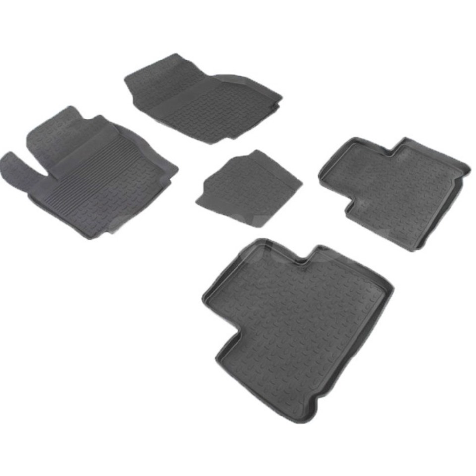 Rubber floor mats for Ford S-Max 2006 2008 2009 2010 2012 2013 2014 Seintex 01362 for honda cbr 1000 rr 2008 2009 2010 2011 motorbike seat cover cbr1000rr motorcycle red fairing rear sear cowl cover