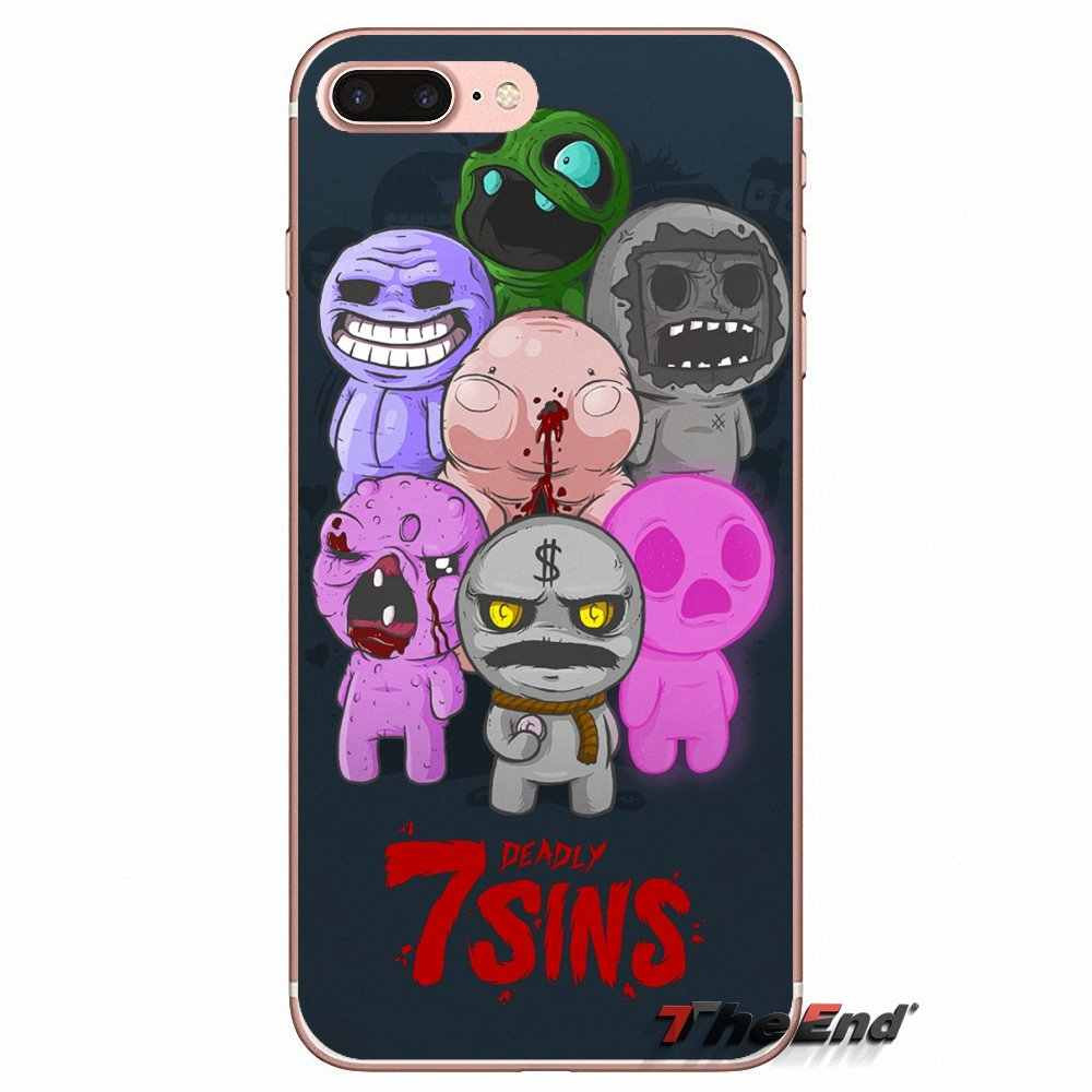 e61eb86ad3401d ... The Binding of Isaac Rebirth Game TPU Case For iPhone X 4 4S 5 5S 5C ...