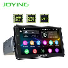 JOYING 1 DIN 7'' touch screen Android 8.1 car radio head unit stereo gps navi tape recorder 2GB RAM Octa Core Multimedia Player(China)